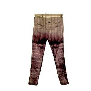 🔥LEVI'S mens 511 handmade slim fit tie-dye jeans
